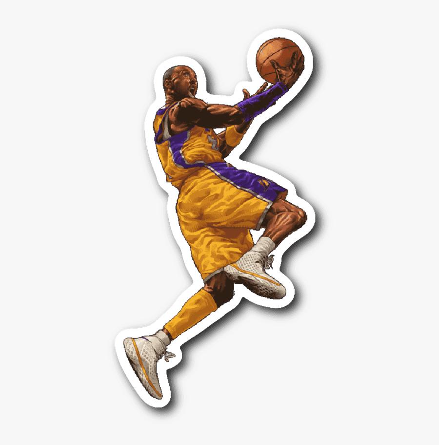 Transparent Basketball Player Dunking Png - Cartoon Characters Playing Basketball, Transparent Clipart