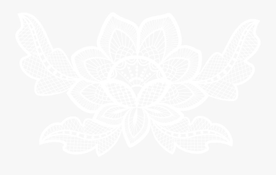 Laces Clipart Floral - Lace Flower Lace Png, Transparent Clipart