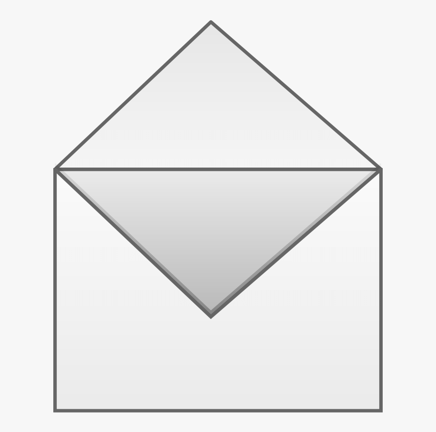 Letter In Envelope Open Clipart Png - Envelope Clip Art Open, Transparent Clipart