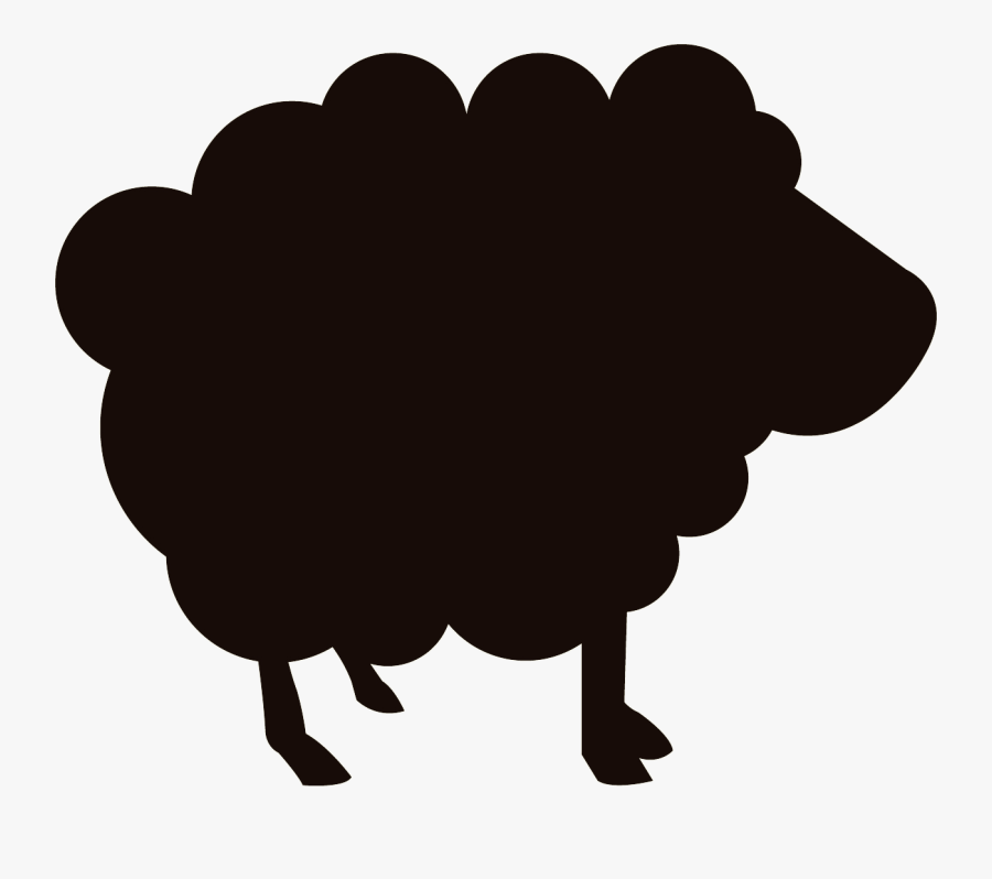 Sheep Clip Art Computer Icons Meat Silhouette - Green Sheep Transparent, Transparent Clipart