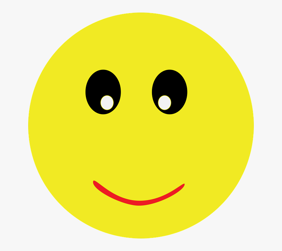 Emoji Smiley Emotion Happy Face Icon Fun Funny - Smiley Face Gif Transparent Background, Transparent Clipart