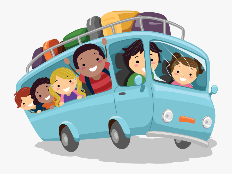 Transparent Hike Png - Children Bus Png, Transparent Clipart