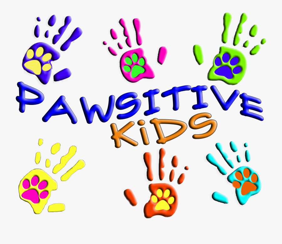 Pawsitive Kids Camp Clipart , Png Download - Hand Print Clip Art, Transparent Clipart