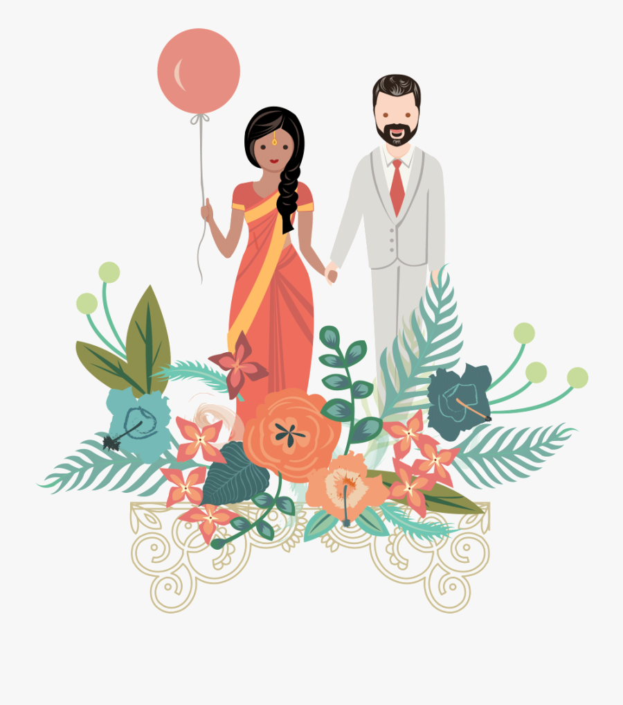 Savitron-couple - Illustration, Transparent Clipart