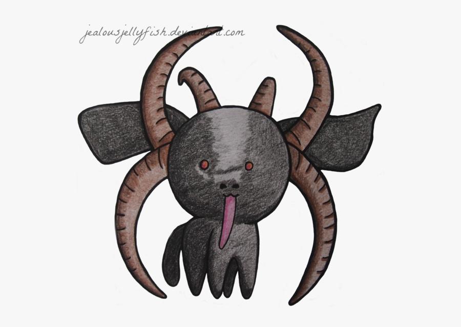 Clipart Goat Horns - Goat Simulator Devil Goat Fan Art, Transparent Clipart