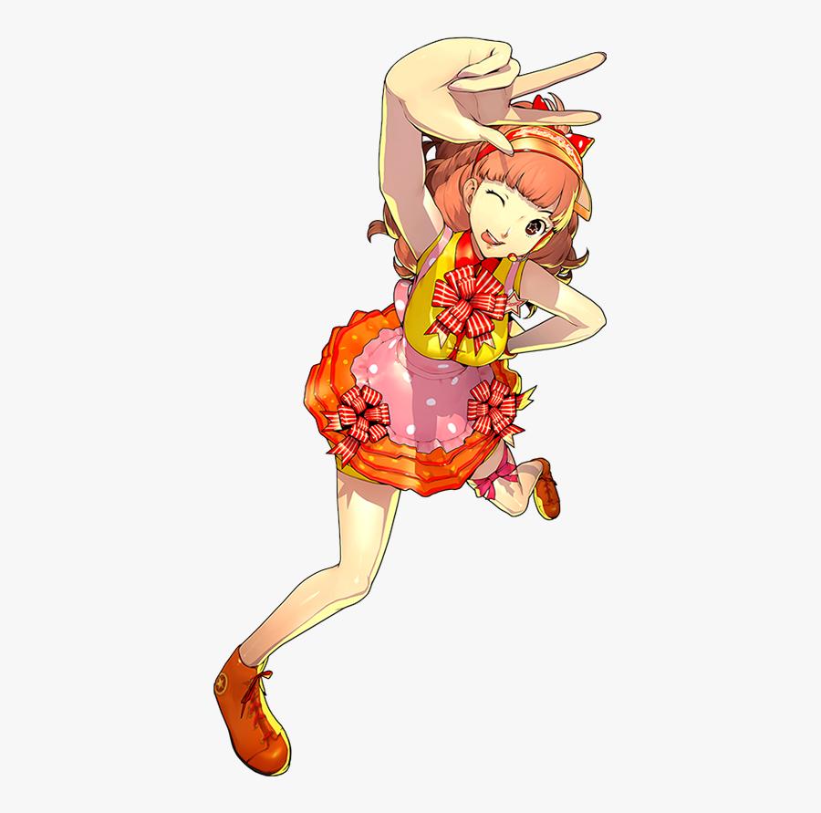 Clip Art Persona 4 Tropes - Persona 4 Dancing Characters, Transparent Clipart