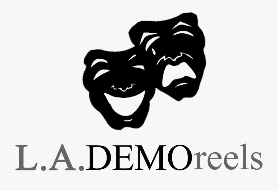 Demo Reels - Theater Masks, Transparent Clipart