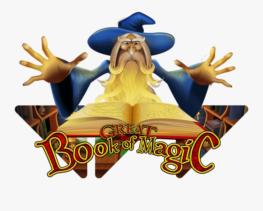 Great Book Of Magic - Great Book Of Magic Slot Png, Transparent Clipart