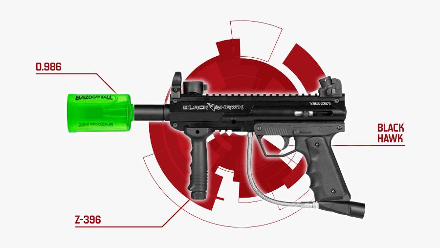 Nerf Blaster - Paintball Marker, Transparent Clipart