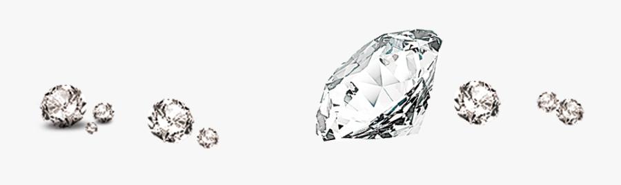Diamond Brilliant Designer - Transparent Background Diamond Sparkles, Transparent Clipart
