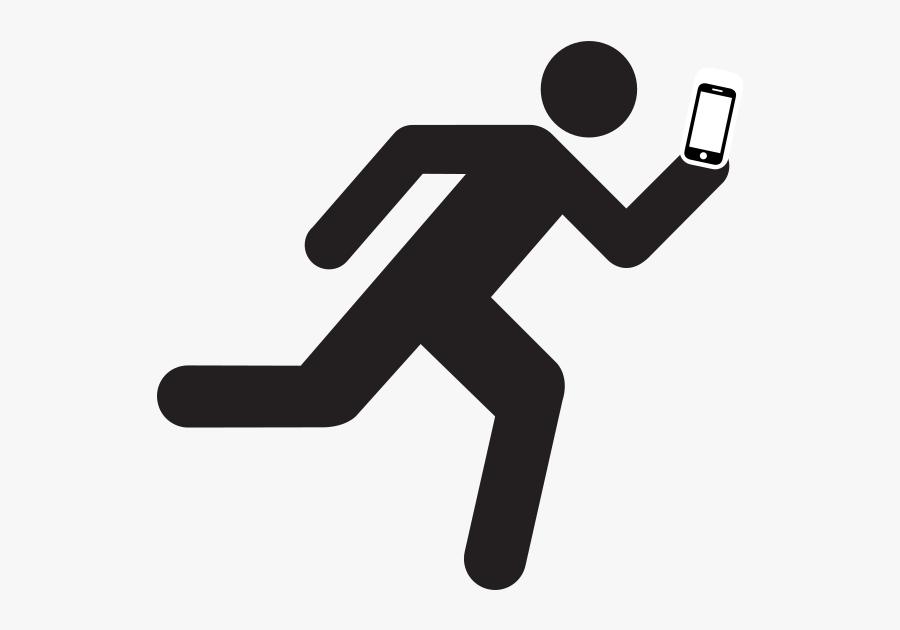 Man Running Clipart, Transparent Clipart