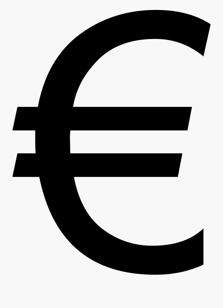 R Clipart Rupee Symbol - Symbol Of France Currency, Transparent Clipart