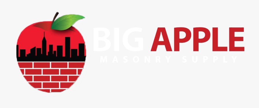 Big Apple Masonry Supply - Graphic Design, Transparent Clipart