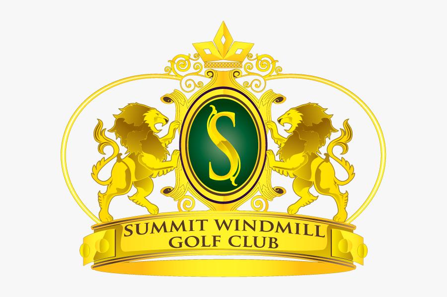Summit Windmill Golf Club Logo, Transparent Clipart
