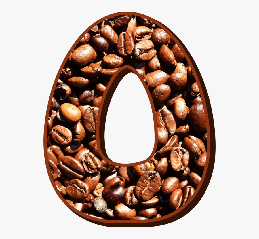 Coffee,commodity,food - Letter O Coffee Bean Png, Transparent Clipart