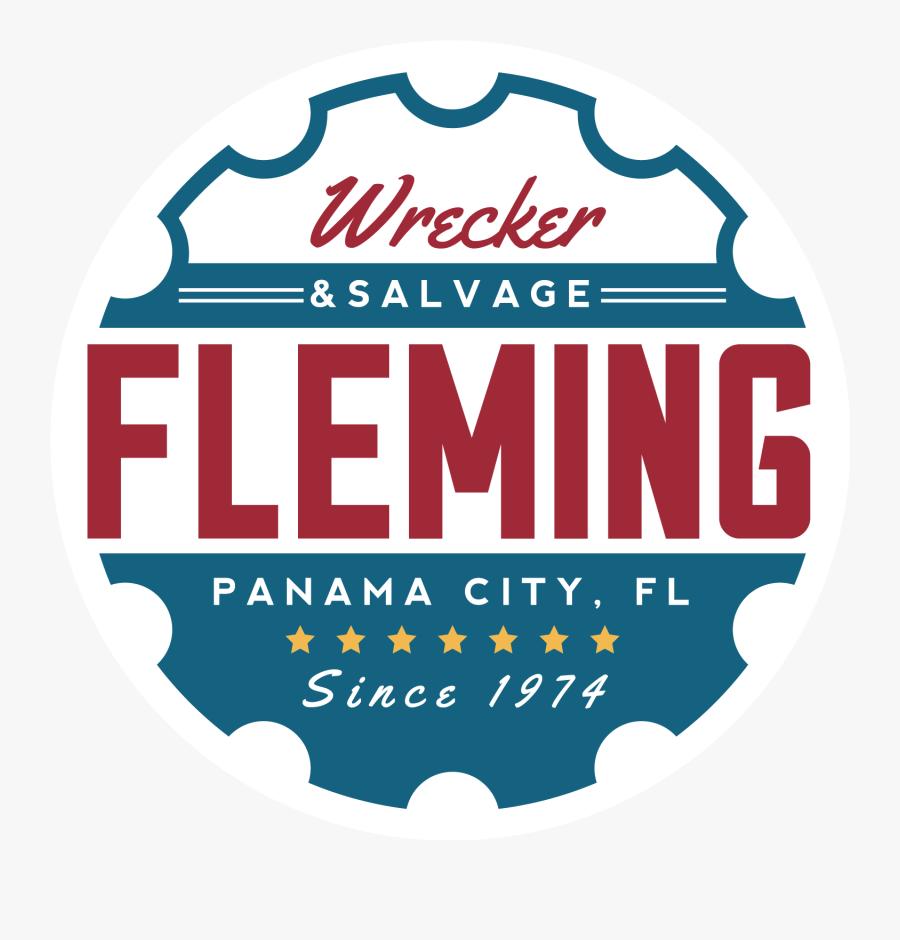 Fleming Auto Salvage And Wrecker Service - Salvage Part Car Logo, Transparent Clipart