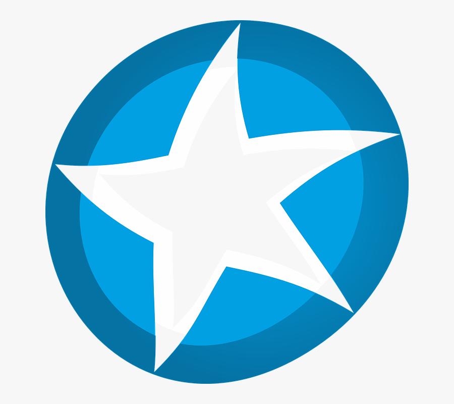 Star, Celebrities, Asterisk - Star Symbol On Map, Transparent Clipart