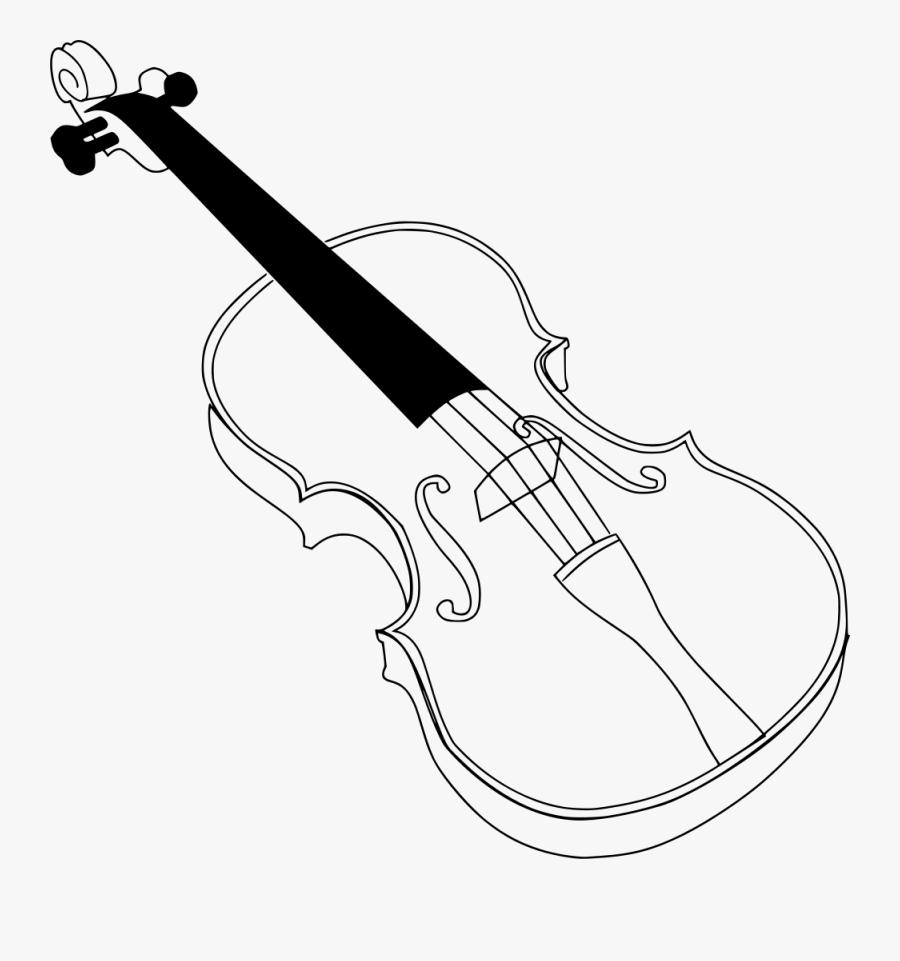 Violin Coloring Page , Free Transparent Clipart - ClipartKey