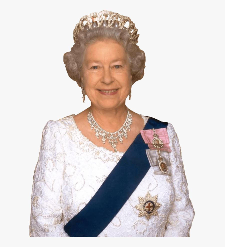 Queen Elizabeth Close Up - Queen Of England Royal, Transparent Clipart