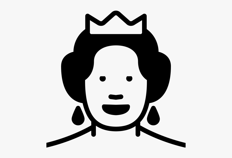 Queen Elizabeth Rubber Stamp Stampmore, Transparent Clipart