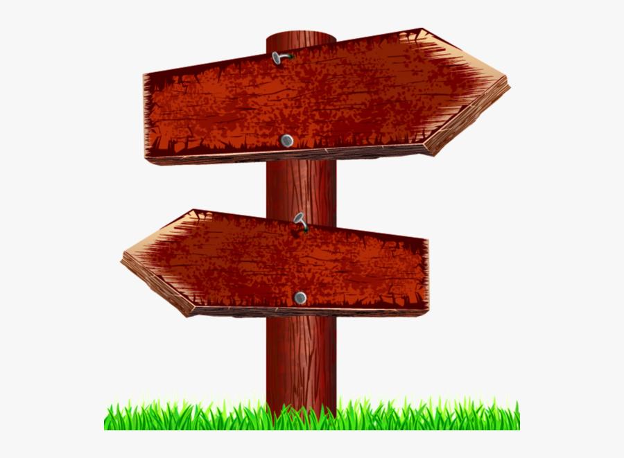 Wood Sign, Transparent Clipart