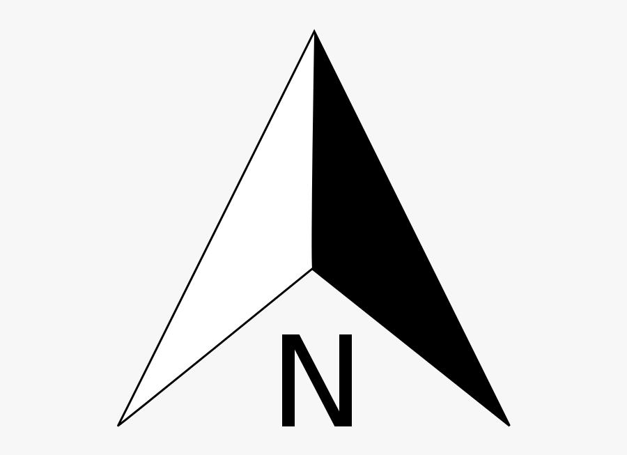 Compass Arrow - North Arrow Png, Transparent Clipart