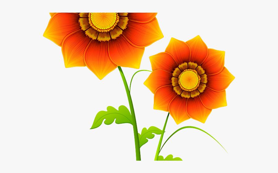 Realistic Flower Clip Art, Transparent Clipart