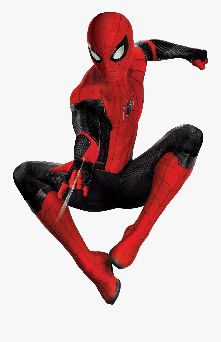 Spider-man Far From Home Png Free Download - Spider Man Upgraded Suit, Transparent Clipart