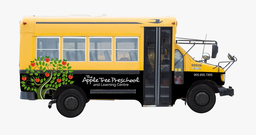 Transportation Clipart Wheel On Bus - School Bus, Transparent Clipart