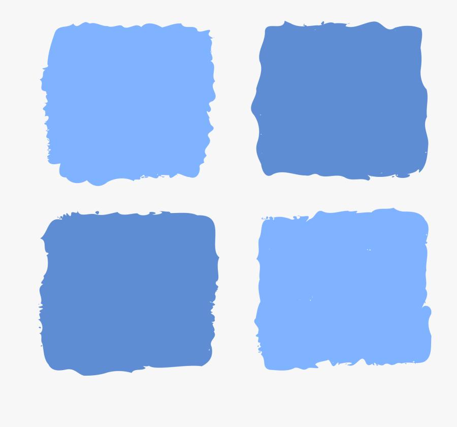 Square Clipart Big Blue - Squares Png, Transparent Clipart