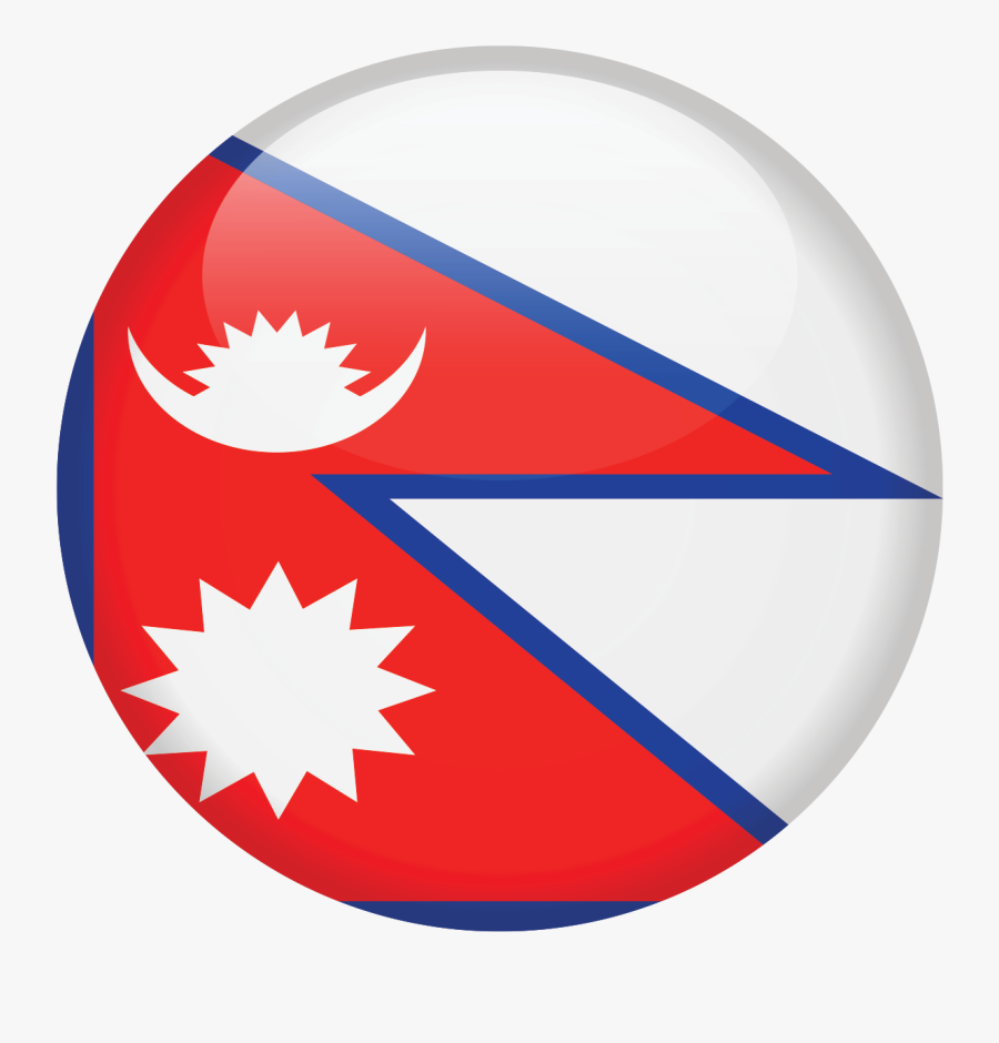 National Flag Of Nepal Png, Transparent Clipart