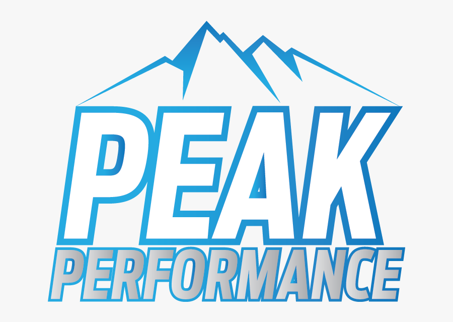 Peak Performance, Transparent Clipart