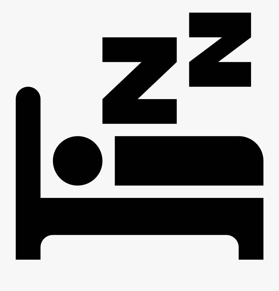 Z Vector Sleeping - Clip Art Bed Sleep , Free Transparent ...