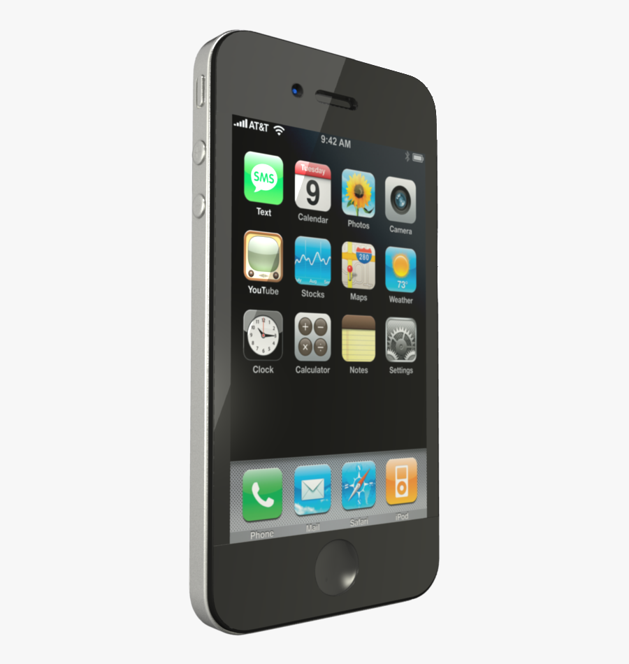 Apple Iphone Png Photo Image - Iphone 3gs Png, Transparent Clipart