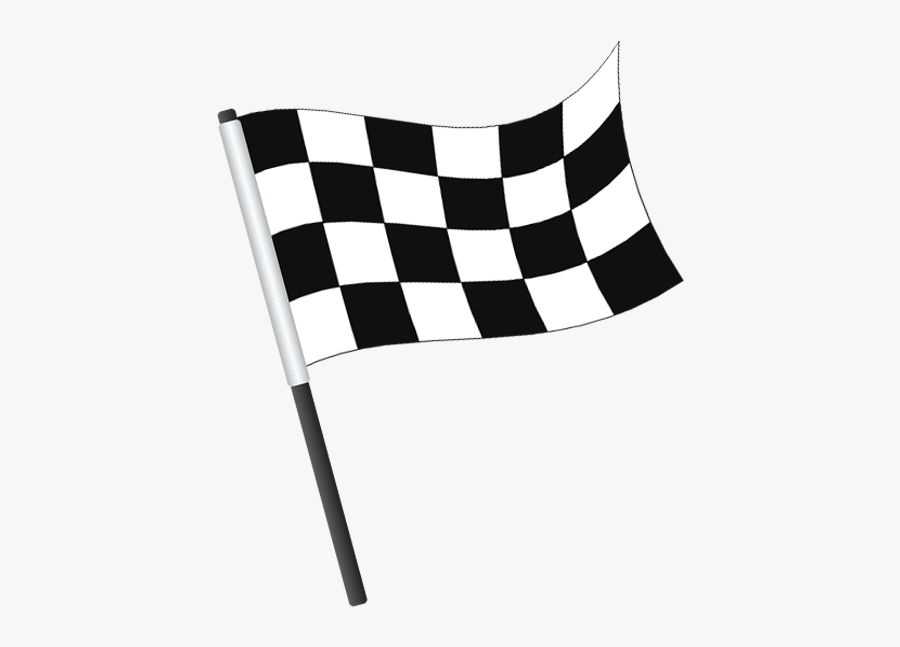 Flag Of The United States Banner Icon - Bandera A Cuadros Png, Transparent Clipart