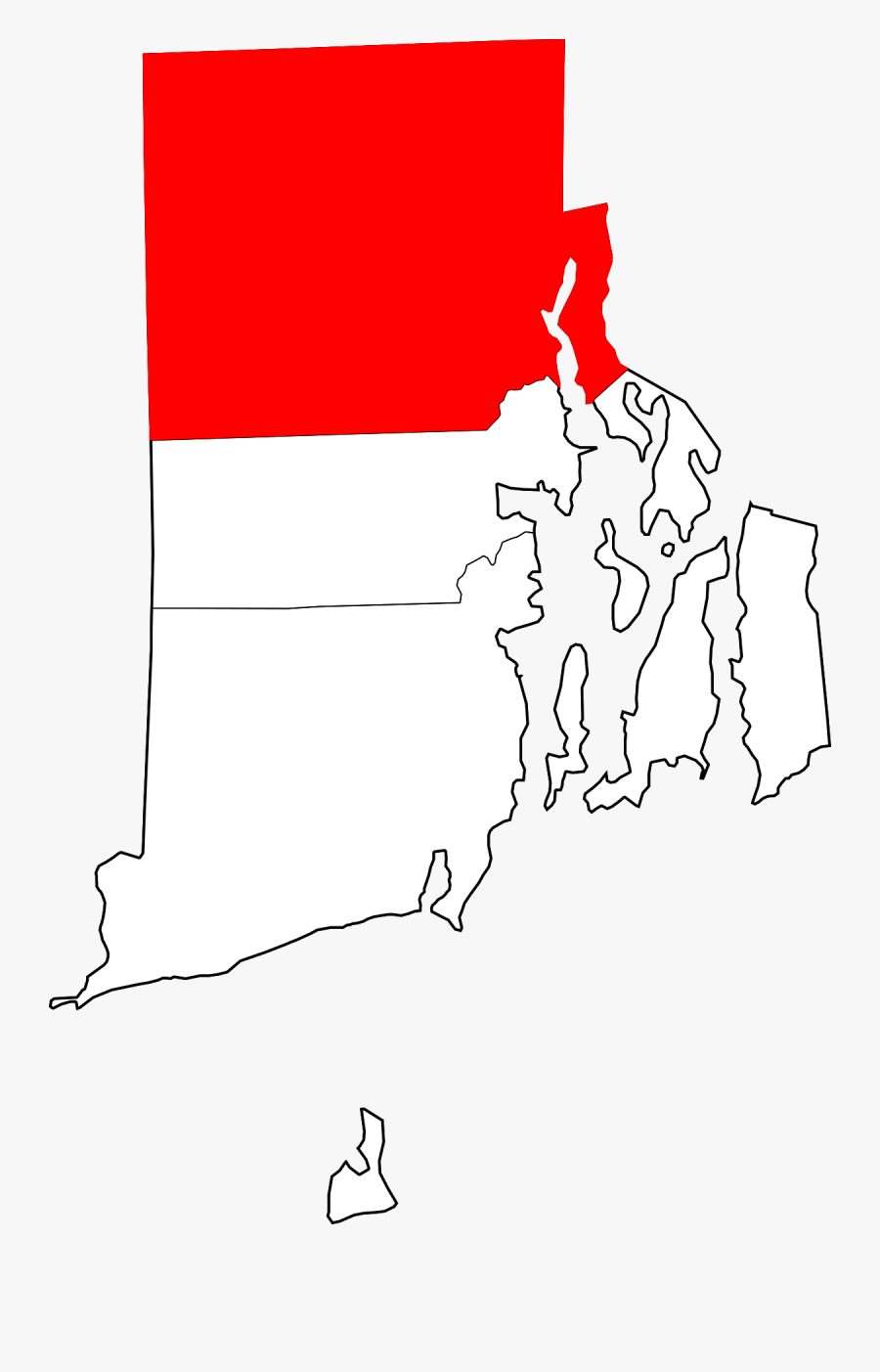 Farming Clipart Colony Rhode Island - Rhode Island Map, Transparent Clipart