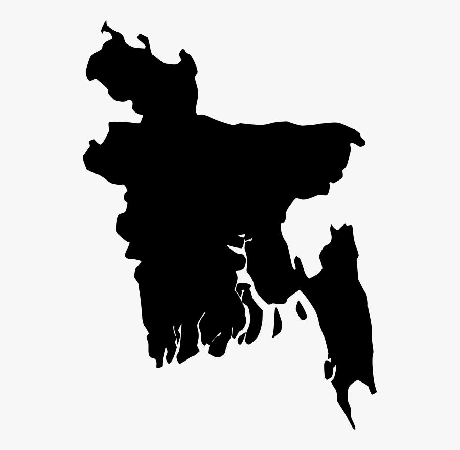 Free Clipart - Bangladesh - Map - Sheikh Tuhin - Bangladesh Map Vector, Transparent Clipart