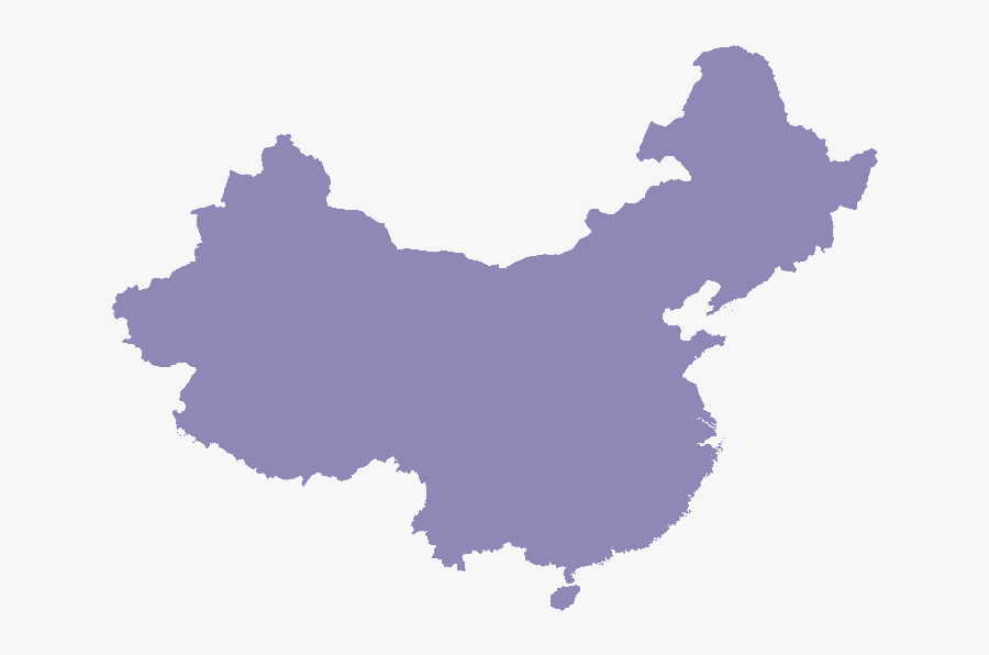 China Vector Map Free, Transparent Clipart