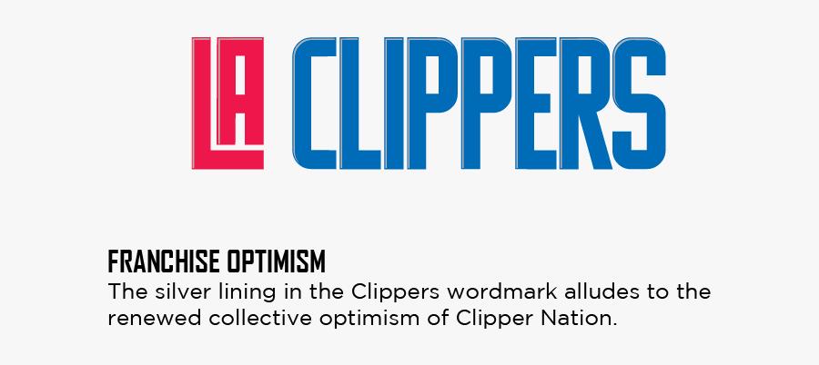 Clip Art La Clippers New Logo - La Clippers Text Logo Png, Transparent Clipart