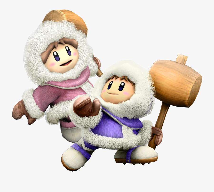 Fight Clipart Brawl - Ice Climber Super Smash Bros Wii U, Transparent Clipart