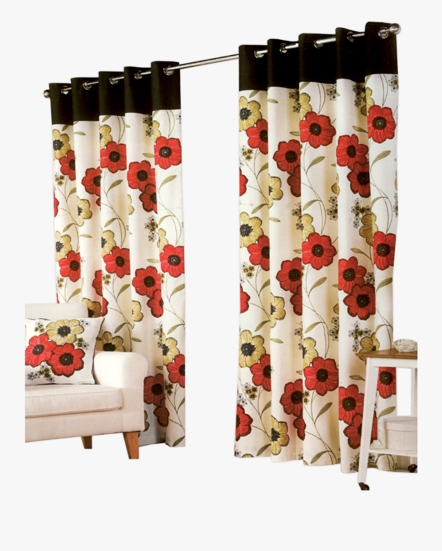 Red Curtains Png - Window Valance, Transparent Clipart