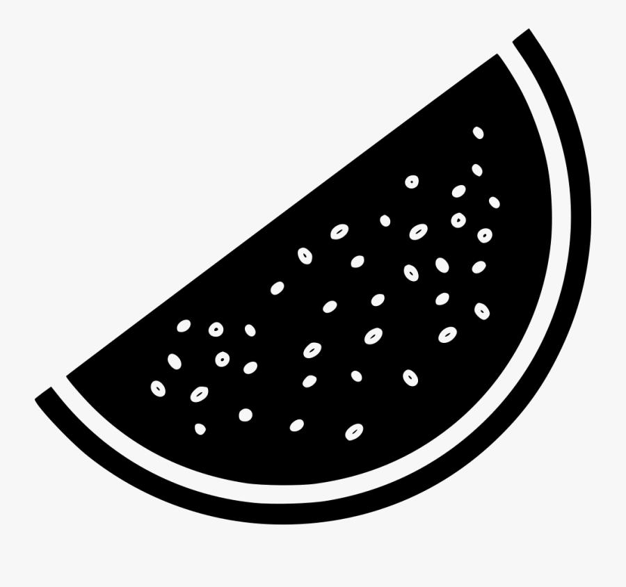 Watermelon Fruit Vegetable Melon Juicy - Circle, Transparent Clipart