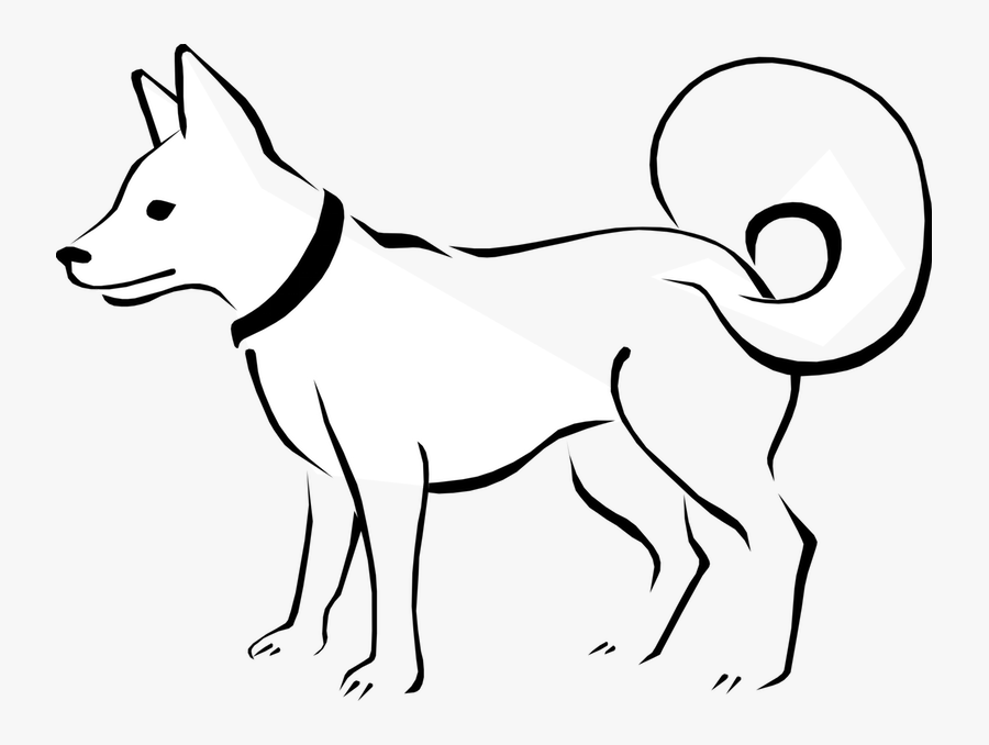 How To Draw An - Domestic Animals Drawing Easy, Transparent Clipart