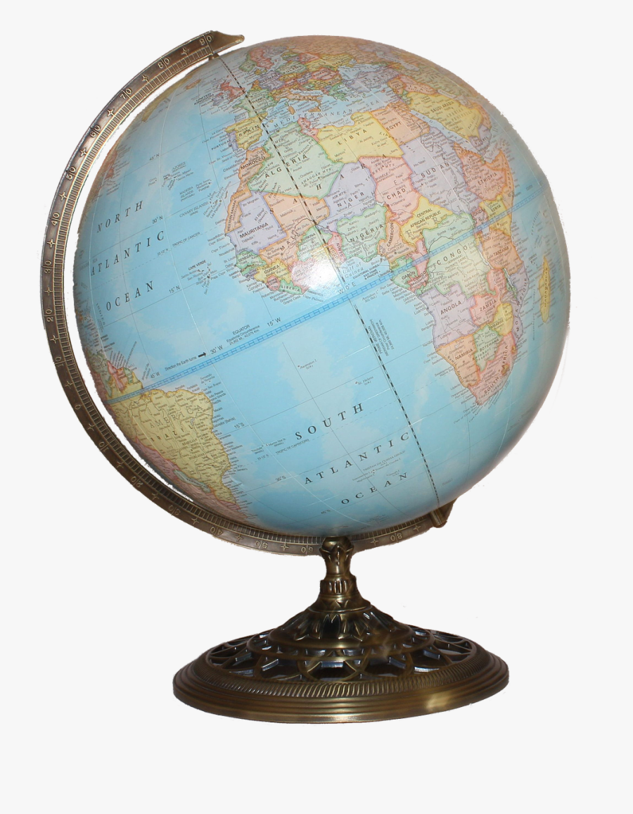Globe Png - World Map Globe Png, Transparent Clipart