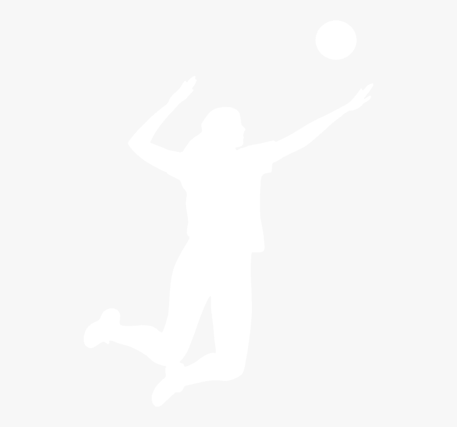 Transparent Volleyball Silhouette Png - Behind Every Volleyball Player, Transparent Clipart