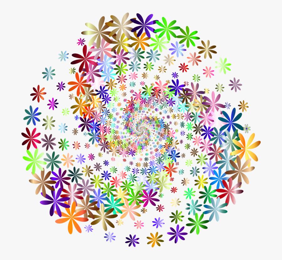 Flora,art,symmetry - Graphic Design, Transparent Clipart
