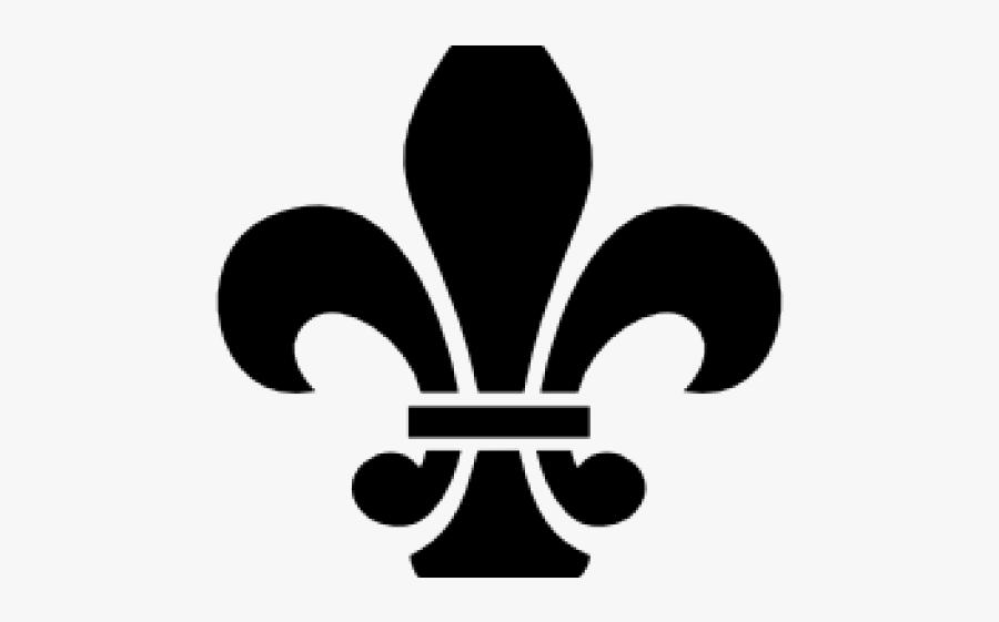 Fleur De Lis Clipart - French Honor Society Logo, Transparent Clipart