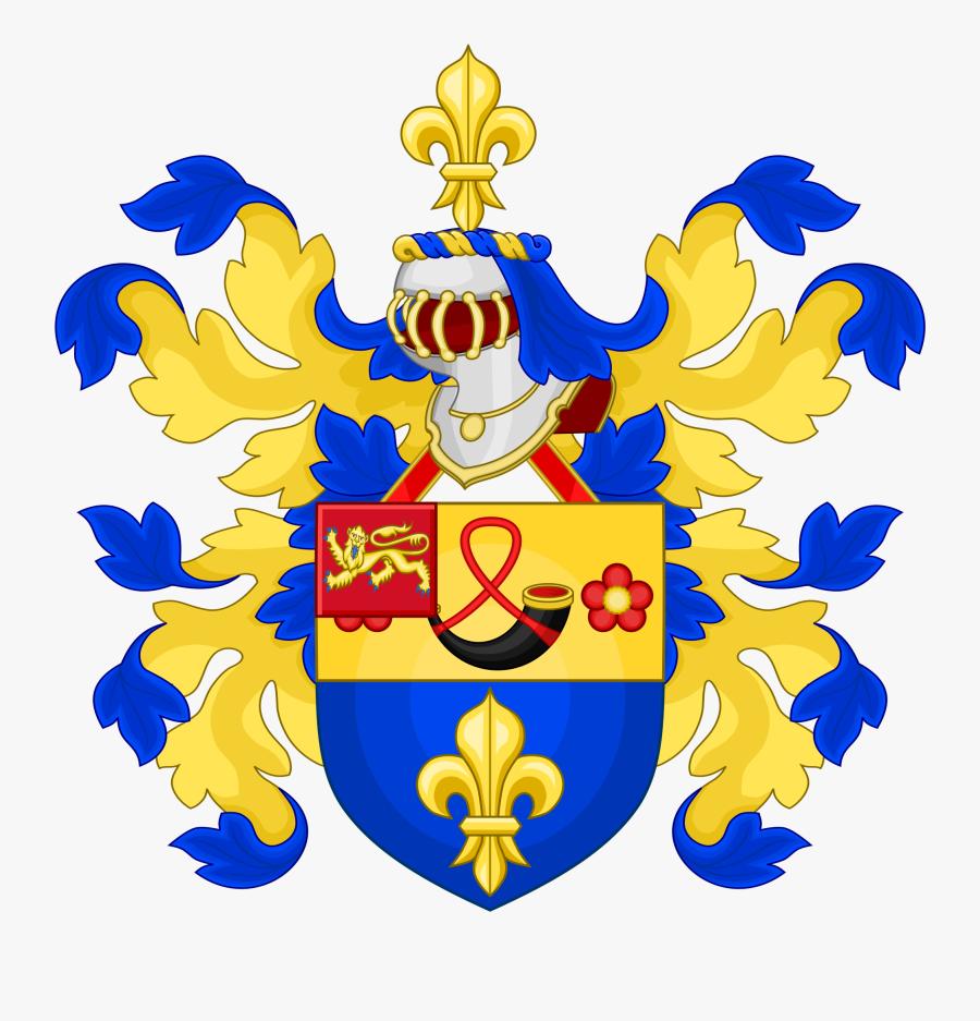 Clip Art Fleur De Lis Wikipedia - Bill Coat Of Arms, Transparent Clipart