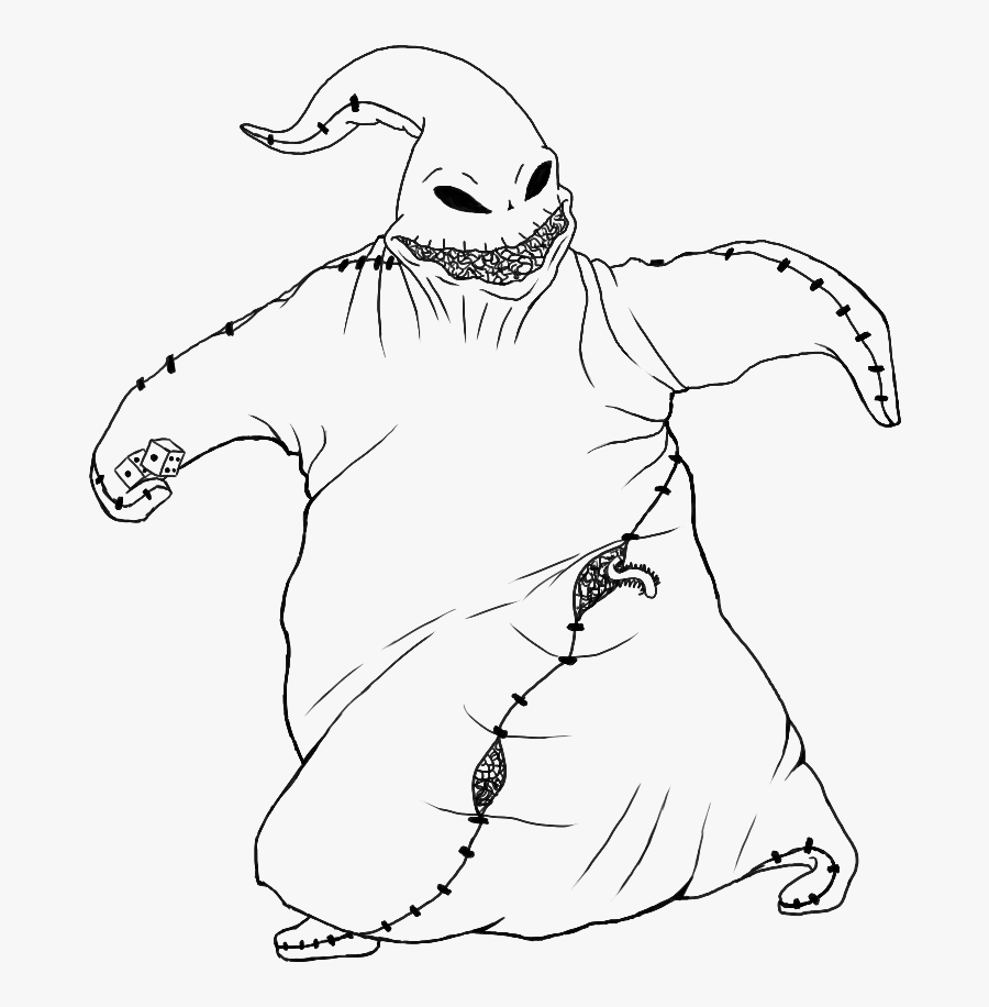 Collection Of Free Tornado Drawing Pen Download On - Oogie Boogie Nightmare Before Christmas Drawing, Transparent Clipart