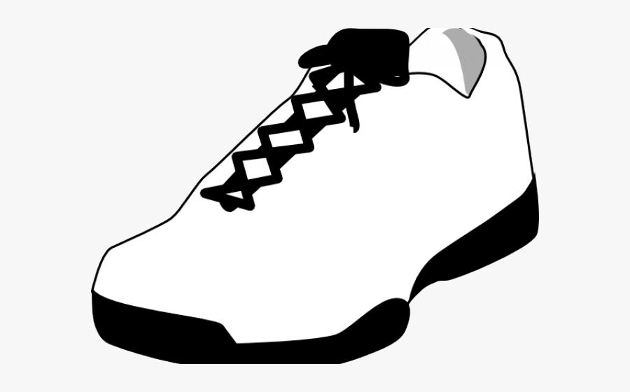 Gym Shoes Clipart Runner Shoe - Shoes Clip Art, Transparent Clipart